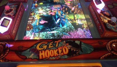 GAME:Harpoon Lagoon: 4 Player Video Redemption Arcade Game
