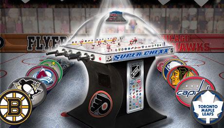 bubble hockey machine