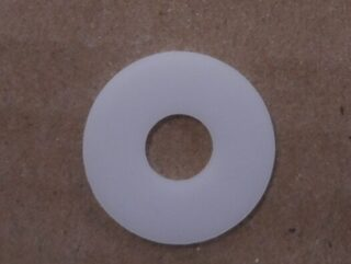 WASHER DOME/COVER GLASS 7/8OD