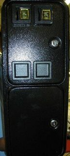COIN DOOR BLACK  (OVER/UNDER)#MUST HAVE 45 LOCKS/K