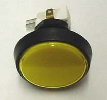 BUTTON LG ROUND YELLOW