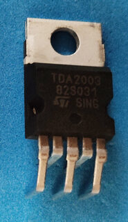 IC E-TDA2003H  HORIZON AUDIO AMP.  (ROHS)  TDA2003
