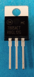 IC MC7805ACTG VOLTAGE REGULATOR (NO SUBSTITUTE) ON