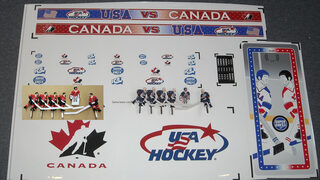 USA-CANADA PLAYER & DECAL KIT (HAND PAINTED)