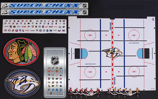 NHL PLAYER,TEAM ICE & DECAL KIT#(MUST#LIST 2 TEAMS