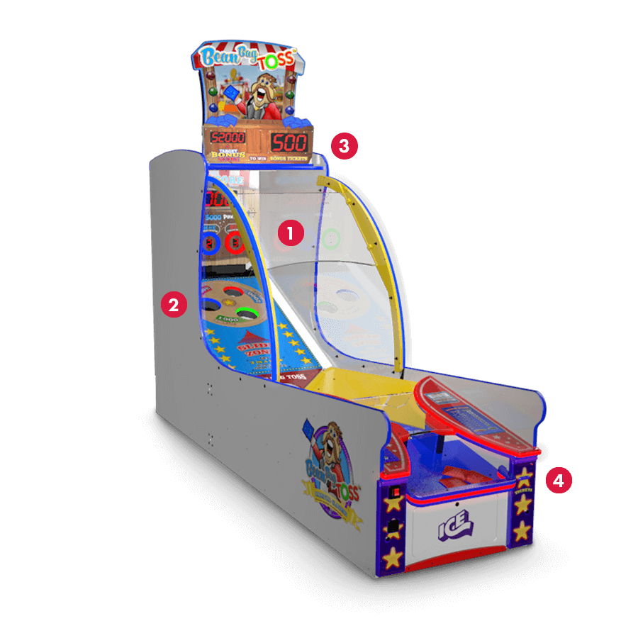 Ice Bean Bag Toss Arcade Game Oem Parts  Service  U0026 Game