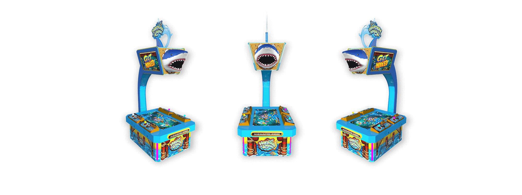 Harpoon Lagoon Arcade Game OEM Parts, Service & Game Manuals